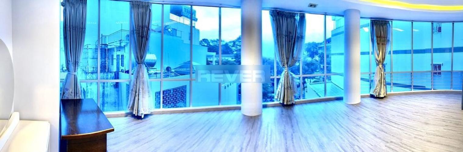 Phòng khách căn hộ Mỹ Vinh, Quận 3 Căn hộ chung cư Mỹ Vinh hướng Đông view thành phố sầm uất.