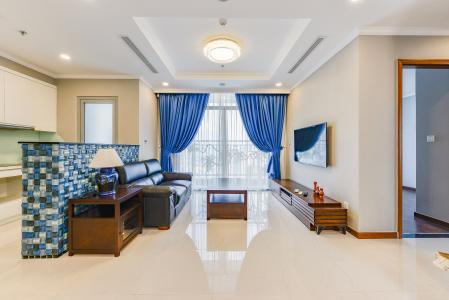 Căn hộ Vinhomes Central Park 3 phòng ngủ tầng cao L6 đầy đủ tiện nghi