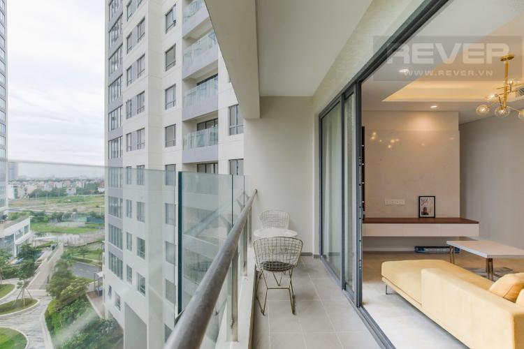 Balcony Bán căn hộ Diamond Island - Đảo Kim Cương 2PN, tháp Maldives, nội thất cơ bản, view nội khu