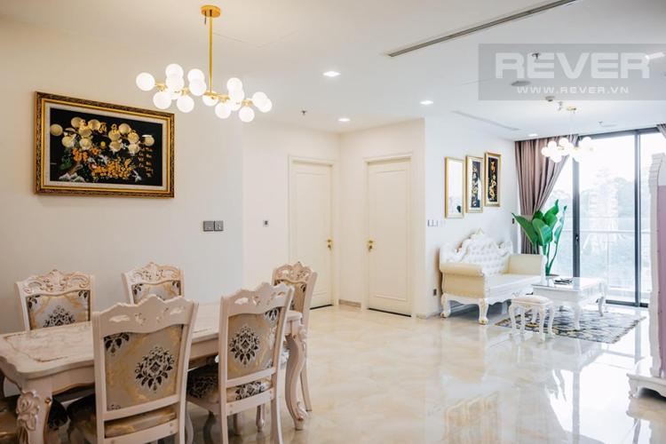 Phòng Khách Bán hoặc cho thuê căn hộ Vinhomes Golden River 3PN, tầng thấp, tháp The Luxury 6, đầy đủ nội thất