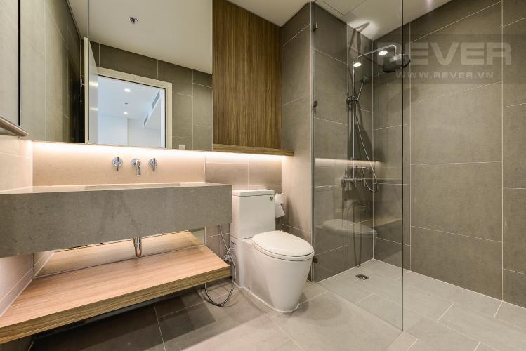 Phòng tắm Cho thuê căn hộ City Garden tầng trung, 1PN, đầy đủ nội thất