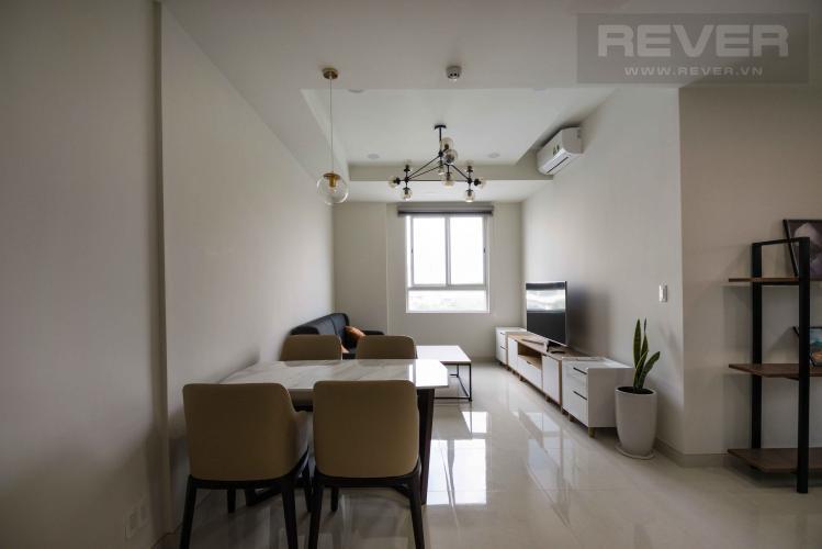 Phòng Khách Cho thuê căn hộ Grand Riverside 3PN, đầy đủ nội thất, view sông thoáng mát