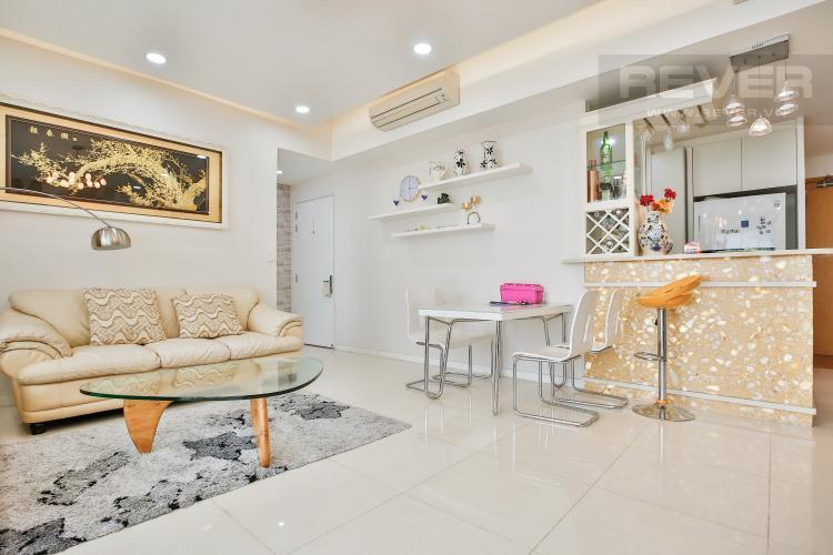Phòng Khách Căn hộ The Estella Residence 2 phòng ngủ tầng cao 2B hướng Đông Nam