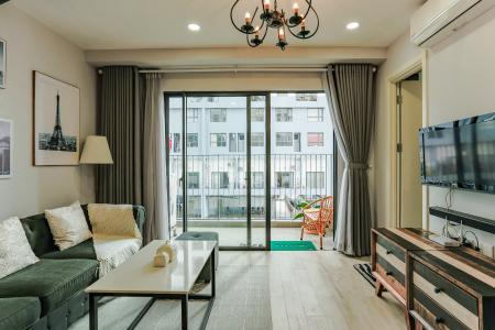 Căn hộ M-One Nam Sài Gòn tầng thấp tòa T2, 1 phòng ngủ, view sông
