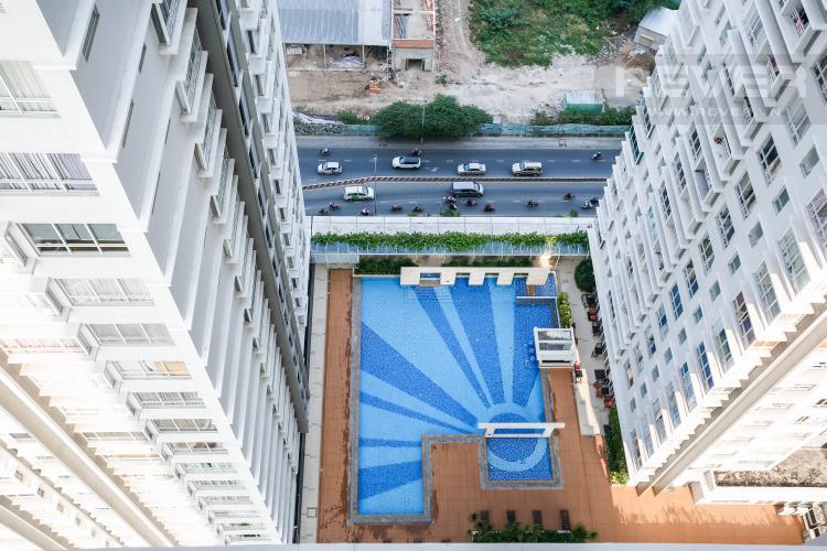 View Căn hộ Sunrise City 2 phòng ngủ tầng cao V3 đầy đủ tiện nghi