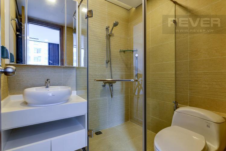 Phòng Tắm 1 Bán và cho thuê căn hộ Vinhomes Central Park 2 phòng ngủ tầng cao tháp Park 1, view sông mát mẻ