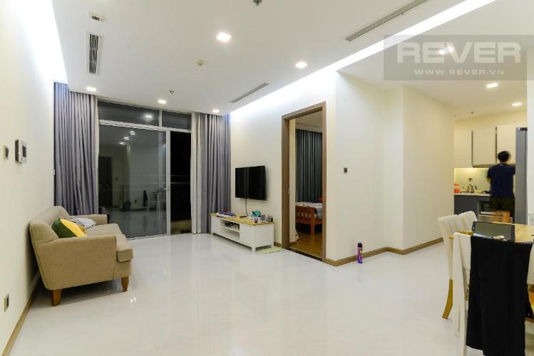Cho thuê căn hộ Vinhomes Central Park 2PN, tháp Park 4, diện tích 82m2, view nội khu