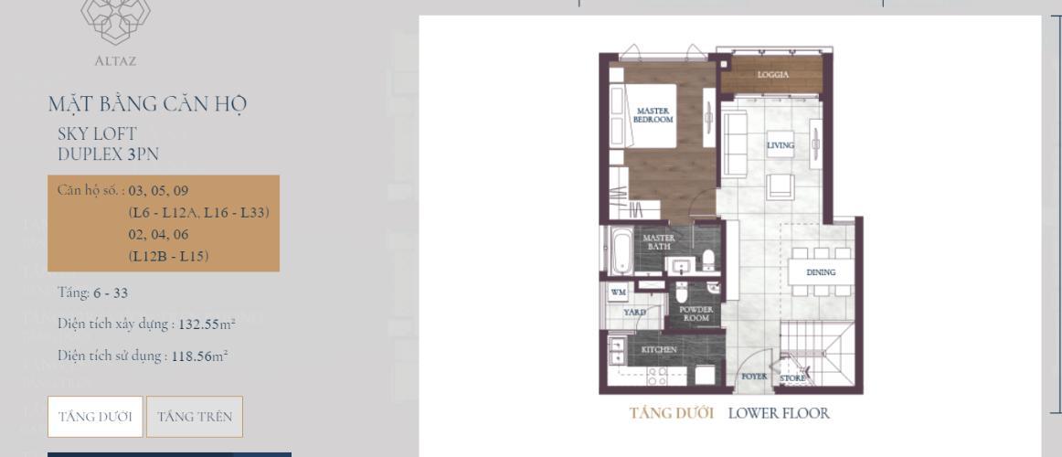 Căn hộ tháp Altaz dự án Feliz en Vista căn hộ tầng cao view thoáng