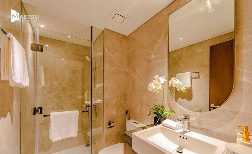 Phòng tắm căn hộ Masteri Centre Point, Quận 9 Căn hộ Masteri Centre Point nội thất cơ bản, view thoáng mát.