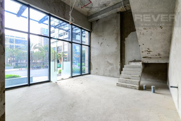 Mặt Bằng Tầng Trệt Bán căn shophouse Vinhomes Golden River 139.5m2 hướng Tây Nam, view nội khu