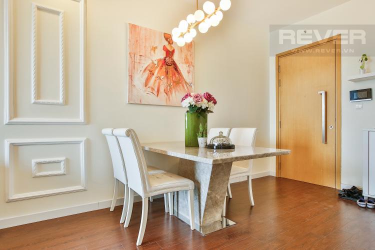 Phòng Khách Căn hộ Vista Verde tầng trung tòa T2 nội thất đẹp nhà mới