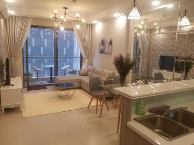 Bán căn hộ The Gold View 2PN, tầng thấp, diện tích 71m2, đầy đủ nội thất, hướng Tây Nam