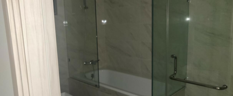 phòng tắm căn hộ midtown Căn hộ Phú Mỹ Hưng Midtown nội thất cơ bản, view thành phố.