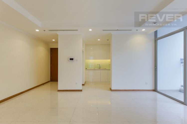 Phòng Khách Căn góc Vinhomes Central Park tầng cao Landmark 3 nội thất cơ bản