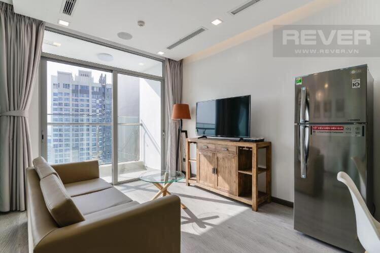 Cho thuê căn hộ Vinhomes Central Park 1 phòng ngủ, diện tích 53m2, đầy đủ nội thất