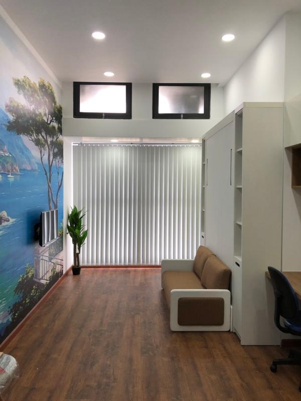 5d12ae724412a24cfb03 Cho thuê căn hộ officetel The Sun Avenue, block 3, diện tích 32m2, đầy đủ nội thất, full sàn gỗ