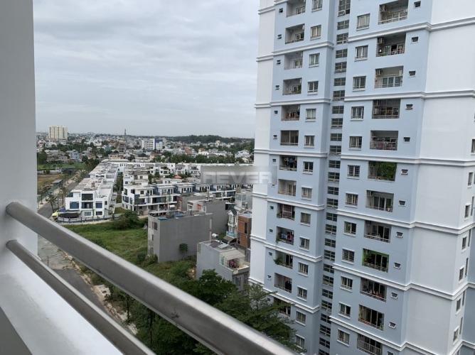 View ban công căn hộ Sunview Town Căn hộ Sunview Town nội thất cơ bản, hướng cửa Đông Nam.
