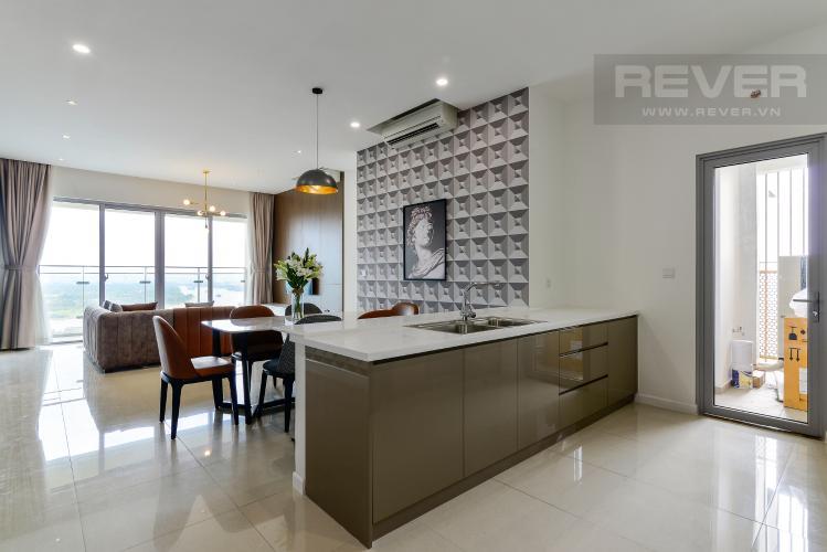 Phòng Khách Cho thuê căn hộ Estella Heights 3PN, tầng cao, đầy đủ nội thất, view Xa lộ Hà Nội