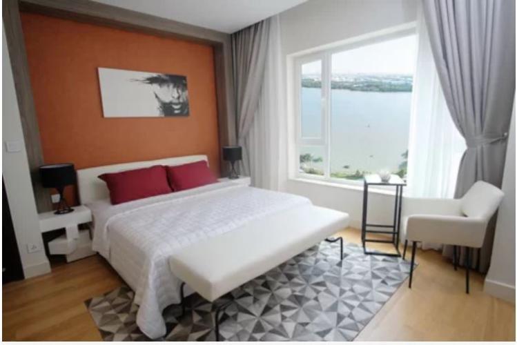 Phòng ngủ Diamond Island Quận 2  Căn hộ Đảo Kim Cương tầng thấp, view nội khu thoáng mát.