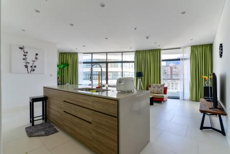 Cho thuê căn hộ City Garden 2PN 2WC, đầy đủ nội thất, view sông