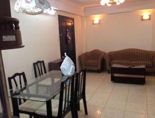 Căn hộ 2 phòng ngủ nội thất đầy đủ chung cư Nam An - Bình Thạnh