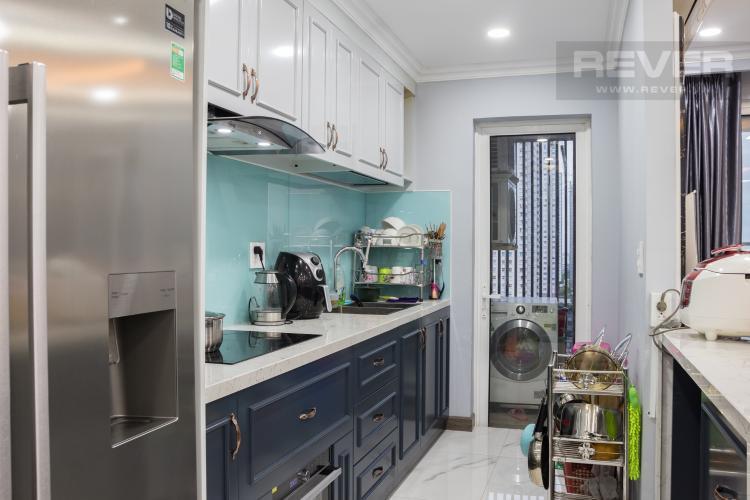 Phòng Bếp Bán căn hộ Sunrise CityView 3PN, tầng trung, đầy đủ nội thất, view hồ bơi và đường Nguyễn Hữu Thọ