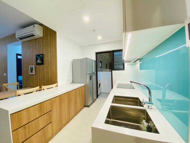 Phòng bếp One Verandah Quận 2 Căn hộ tầng trung One Verandah view thành phố, nội thất đầy đủ