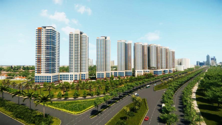 The Sun căn hộ The Sun Avenue Cho thuê căn hộ tầng trung view sông, nội thất cơ bản The Sun Avenue