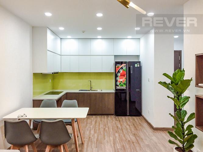 Phòng Ăn Và Bếp Cho thuê căn hộ Sunrise CityView 2PN tầng thấp, diện tích 76m2, đầy đủ nội thất