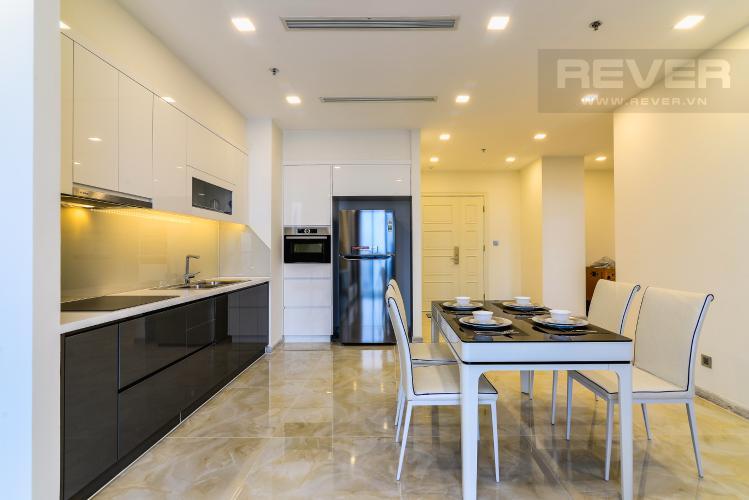 Phòng Ăn & Bếp Căn hộ Vinhomes Golden River 2 phòng ngủ tầng cao A3 nội thất đầy đủ
