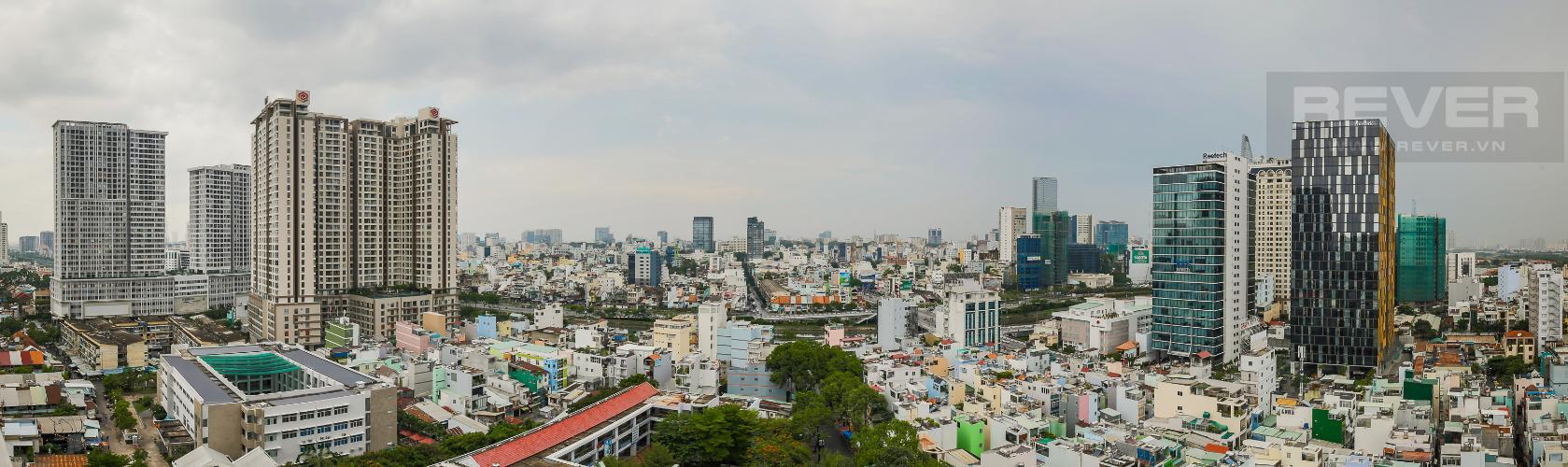 View Cho thuê chung cư H2 Hoàng Diệu 2PN, diện tích 87m2, đầy đủ nội thất, view cảnh thành phố