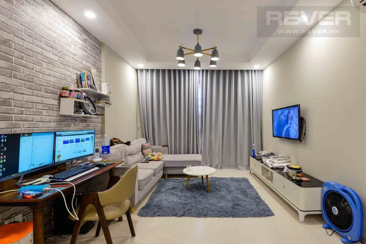 Phòng Khách Bán căn hộ The Gold View tầng cao 2PN, đầy đủ nội thất, view sông thoáng đãng