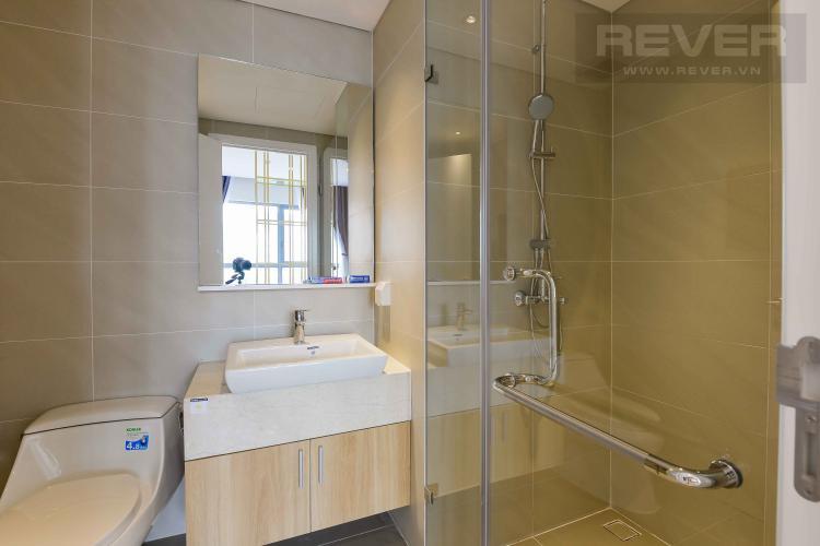Toilet Cho thuê căn hộ Diamond Island - Đảo Kim Cương 1PN, tháp Canary, đầy đủ nội thất, view sông thoáng mát
