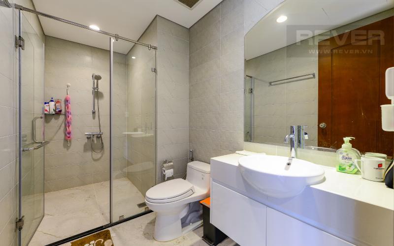 phòng tắm Căn hộ Vinhomes Central Park tầng cao Central 2 view sông