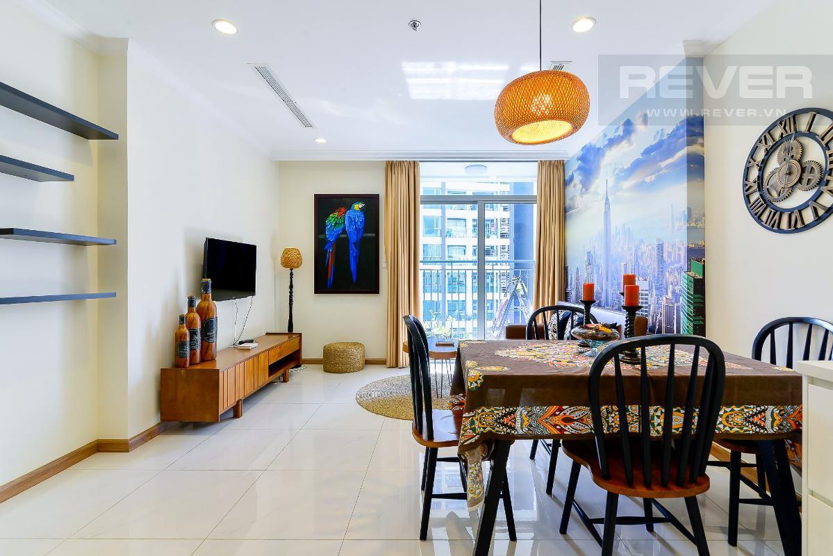 can-ho-vinhomes-central-park Cho thuê căn hộ Vinhomes Central Park 1PN, đầy đủ nội thất, ban công hướng Nam, view mé sông