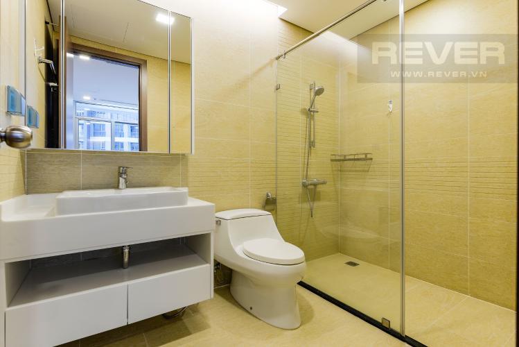 Phòng tắm 2 Căn hộ Vinhomes Central Park tầng cao, tháp Park 2, 2PN, view sông