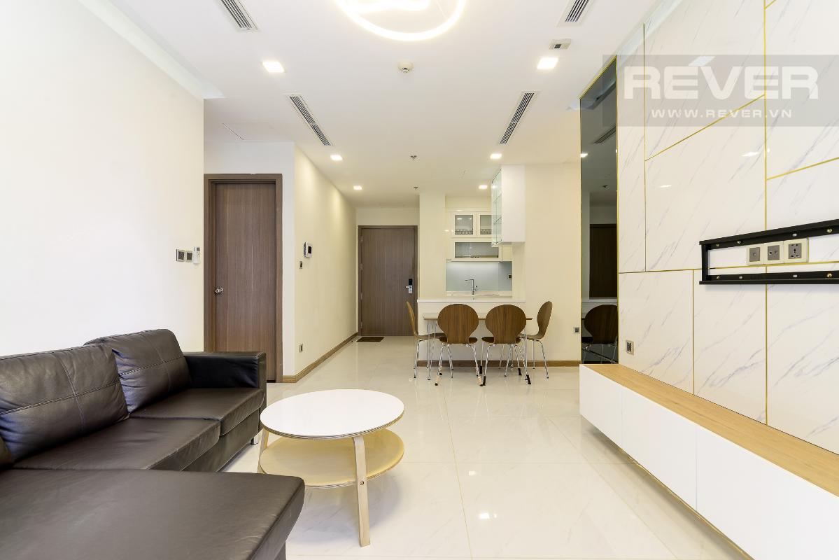 _DSC4006 Bán căn hộ Vinhomes Central Park 2PN, tháp Park 5, đầy đủ nội thất, view sông và công viên xanh mát