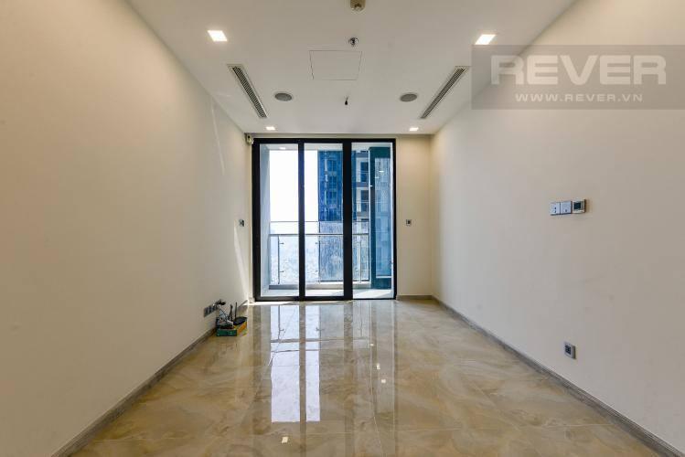 Phòng Khách Bán căn hộ Vinhomes Golden River 1PN, tầng cao, tháp The Aqua 1, view thành phố