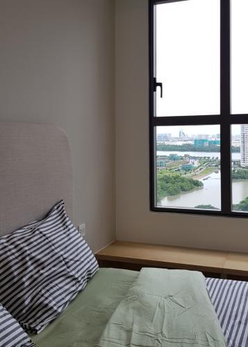 phòng ngủ căn hộ The Sun, Quận 2 Căn hộ The Sun Avenue tầng trung Block 7 view thoáng mát.