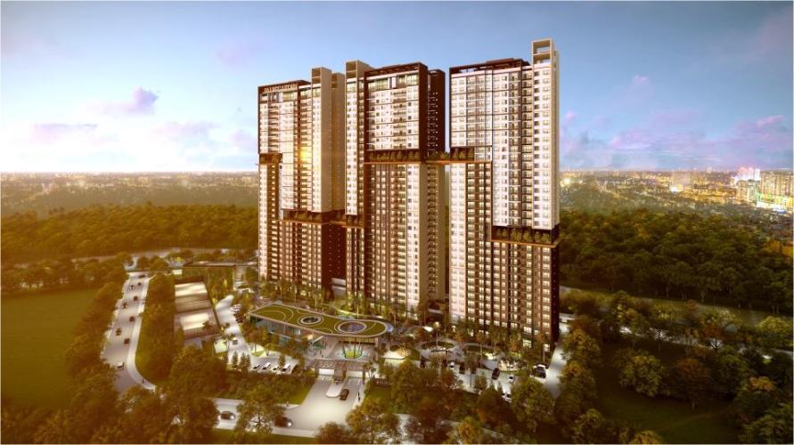 Bán căn hộ Palm Heights 2PN, tầng thấp, tháp 2, bàn giao thô, hướng Đông Bắc, view sông và nội khu