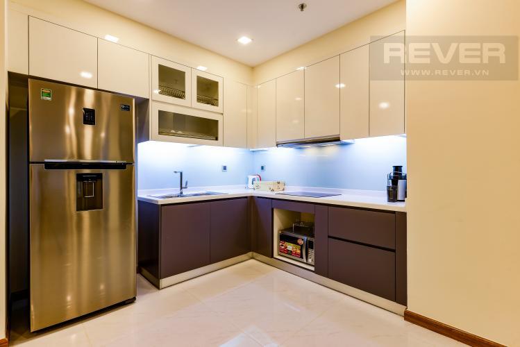 Phòng Bếp Căn hộ Vinhomes Central Park tầng cao Park 6 rộng rãi, thoáng mát, view sông