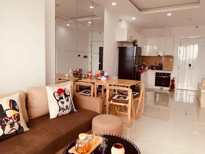 Căn hộ Saigon Mia tầng trung đầy đủ nội thất, tiện nghi cao cấp.