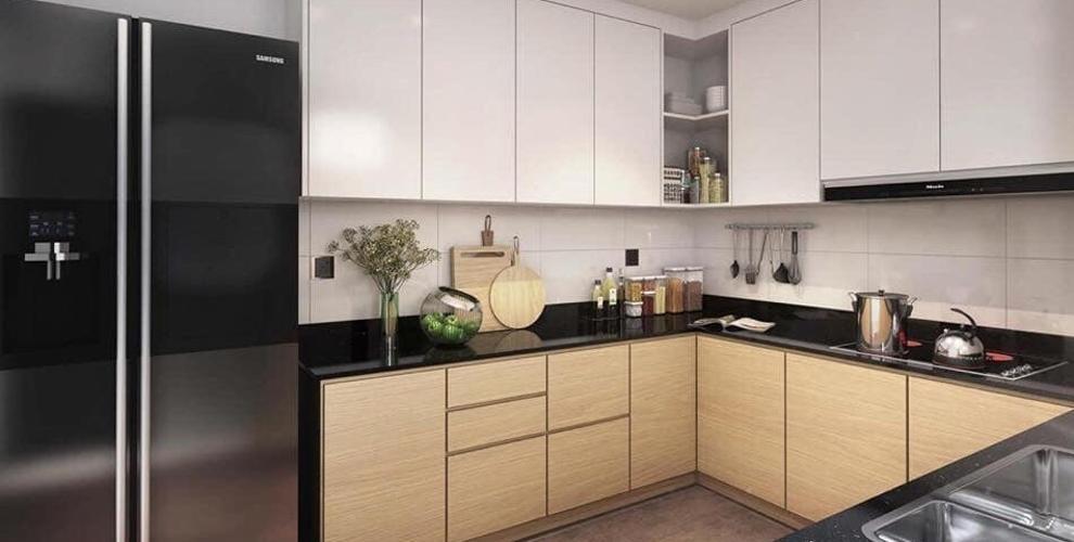 Phòng bếp căn hộ Feliz en Vista Căn hộ Feliz En Vista nội thất cao cấp đầy đủ, dọn vào ở ngay