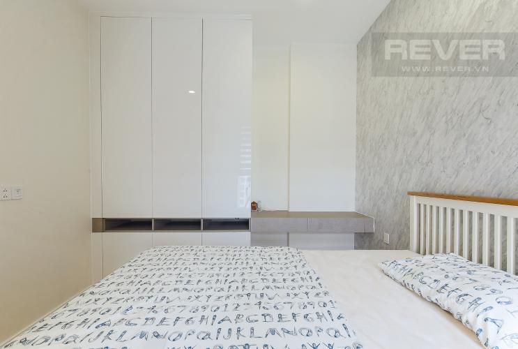 Phòng Ngủ 1 Căn hộ Masteri Millennium tầng cao 2PN đầy đủ nội thất view sông