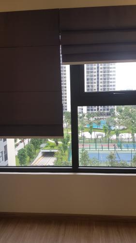 Phòng ngủ căn hộ Vinhomes Grand Park Căn hộ Vinhomes Grand Park nội thất cơ bản, view hồ bơi nội khu.