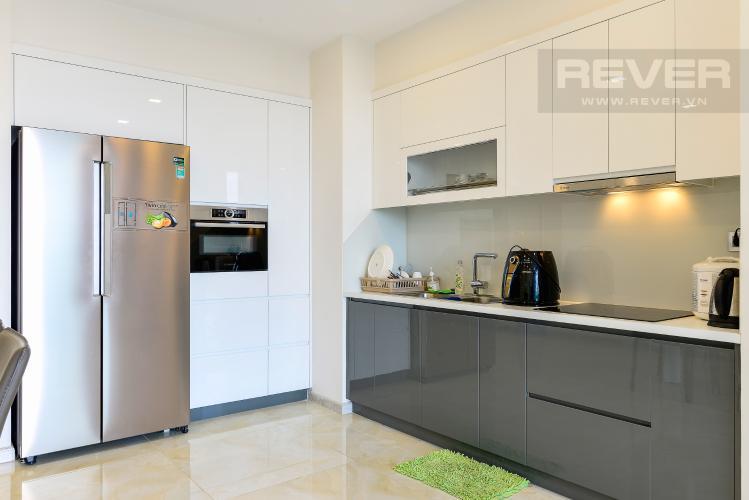Nhà Bếp Bán căn hộ Vinhomes Golden River 2PN, tầng trung, tháp The Aqua 4, đầy đủ nội thất, view sông Sài Gòn
