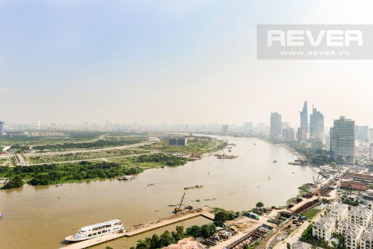 View Bán căn hộ Vinhomes Golden River tầng cao, 2PN view sông, nội thất cơ bản
