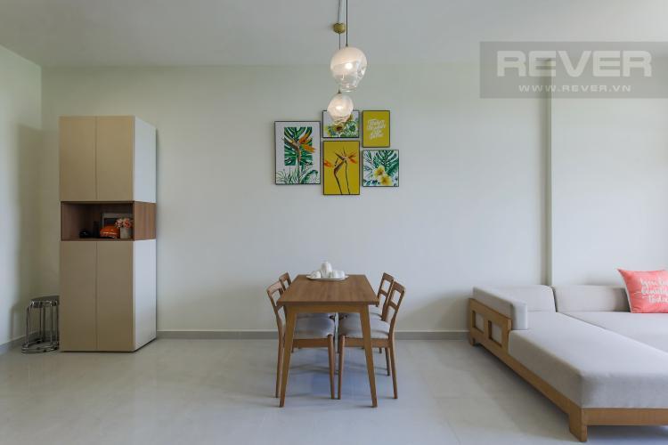Phòng Khách Cho thuê căn hộ Jamila Khang Điền 2PN, block C, đầy đủ nội thất, view khu dân cư xanh mát