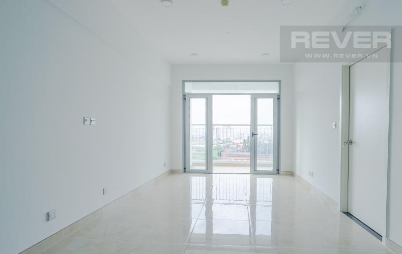 Phòng Khách Bán căn hộ LuxGarden tầng trung, 2PN, nội thất cơ bản