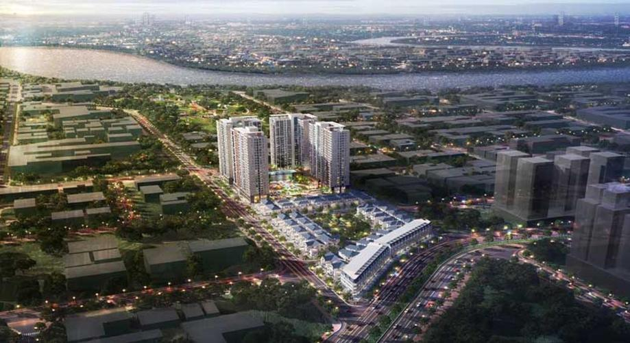 Bán căn hộ Victoria Village 3PN, diện tích 88m2, ban công Đông Nam